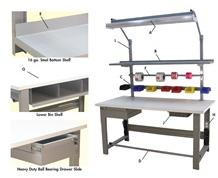 1,600 LB. CAPACITY ROOSEVELT SERIES WORKBENCH OPTIONS