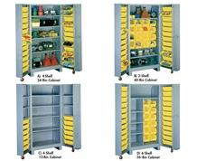 ALL-WELDED DEEP DOOR STORAGE CABINETS